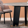 Skive  Natural marble Dining table DT006
