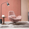 Pre-Order 60 days delivery Vigo Swivel Lounge Chair  LC017-P