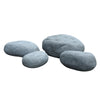Set of 4 outdoor/indoor Fiberglass concrete decorative rocks/ stool  XK-5013A+B+C+D