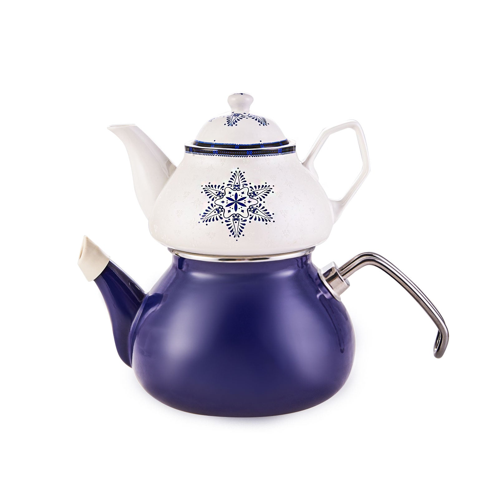 Karaca Queen Star Teapot Set with Porcelain Teapot 153.03.07.9625 - ebarza