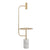 Pre-order 60 days delivery Natural Marble, floor lamp table CY-NEW-043