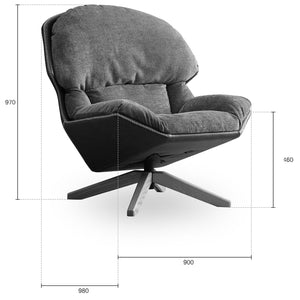 Vienna   Lounge Chair LC039