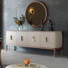 Pre-Order 20 days delivery  HERMES  Sideboard+ Mirror    HER003