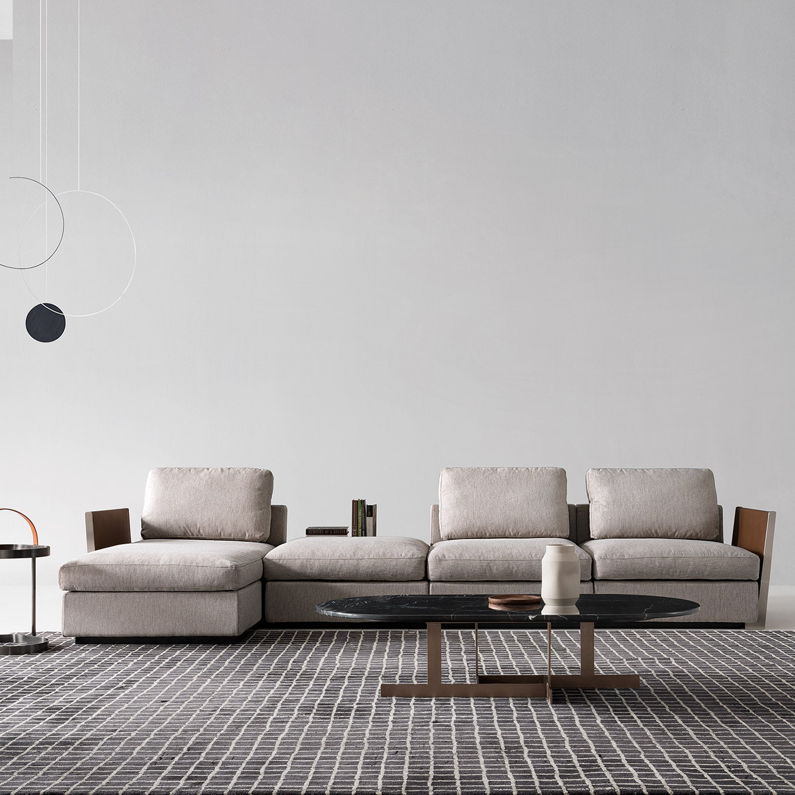 Forlì L sofa  SF041-3CL+O
