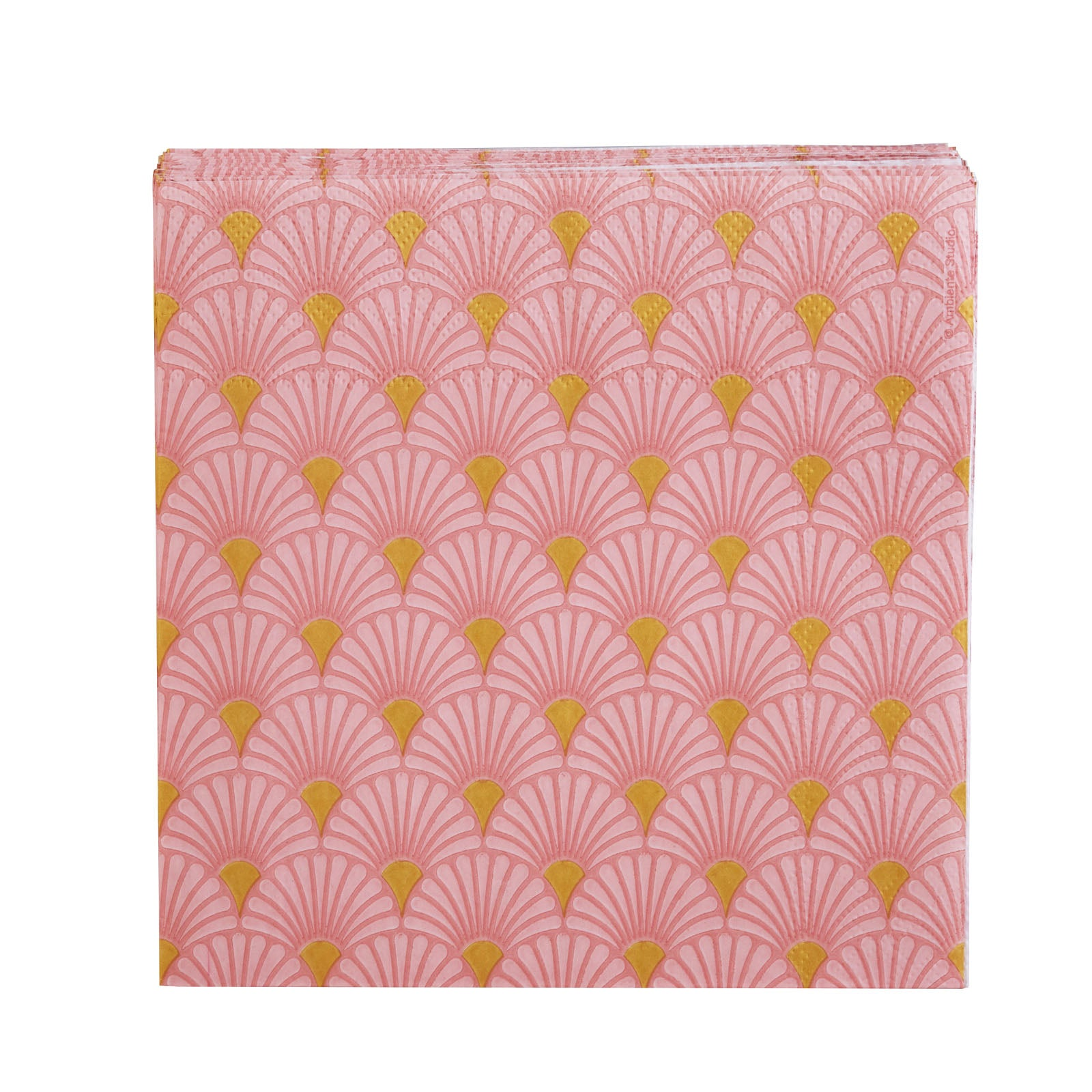 Karaca Art Deco Rose / gold Napkin 153.19.01.1235