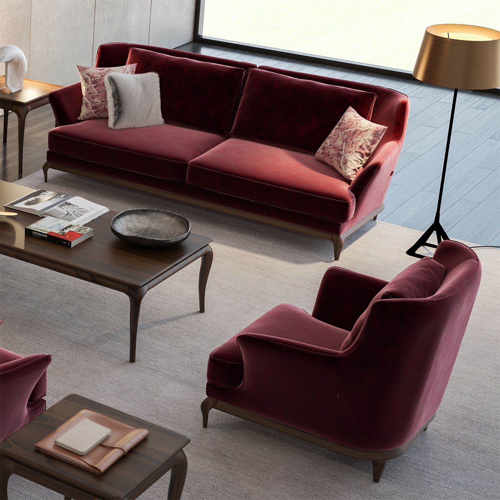 3+1 Norma Sofa Set Norma001 -  3 + 1 طقم كنب نورما - Shop Online Furniture and Home Decor Store in Dubai, UAE at ebarza