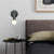 Hotel style headboard/wall reading lamp CY-BD-037-BK