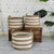 Set of 3 baskets 190410-010