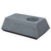 Set of 3 outdoor/indoor Fiberglass concrete Planter box and bench  XK-5040A+B+C