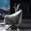Pre-Order 40 days delivery  Bergen lounge chair TG-216-G