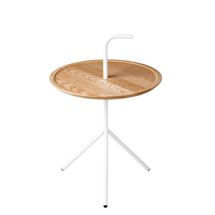 Steel& Solid Wood  side table   GT-230B - ebarza