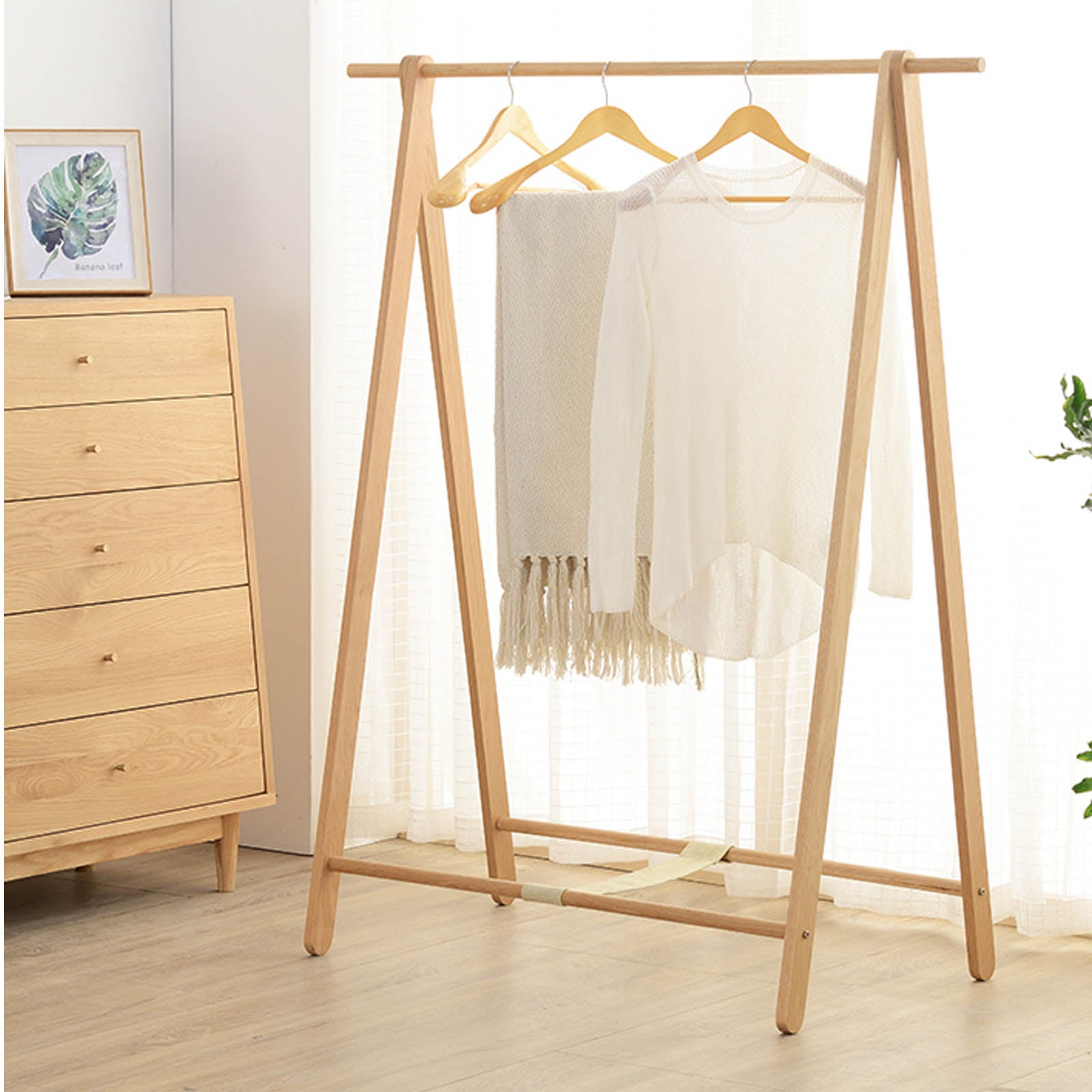 Solid Wood Hanger CH-025-N -  شماعات الخشب الصلب - Shop Online Furniture and Home Decor Store in Dubai, UAE at ebarza
