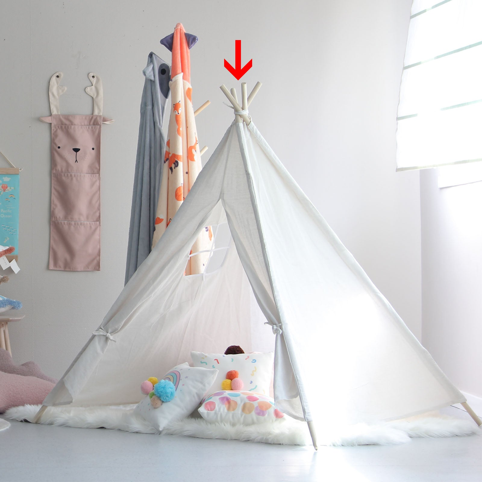 Kids Tent   190410-007 -  خيمة الاطفال - Shop Online Furniture and Home Decor Store in Dubai, UAE at ebarza
