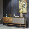 Pre-order 60 days delivery ZEN Sideboard with Natural marble top  ZEN003 - ebarza