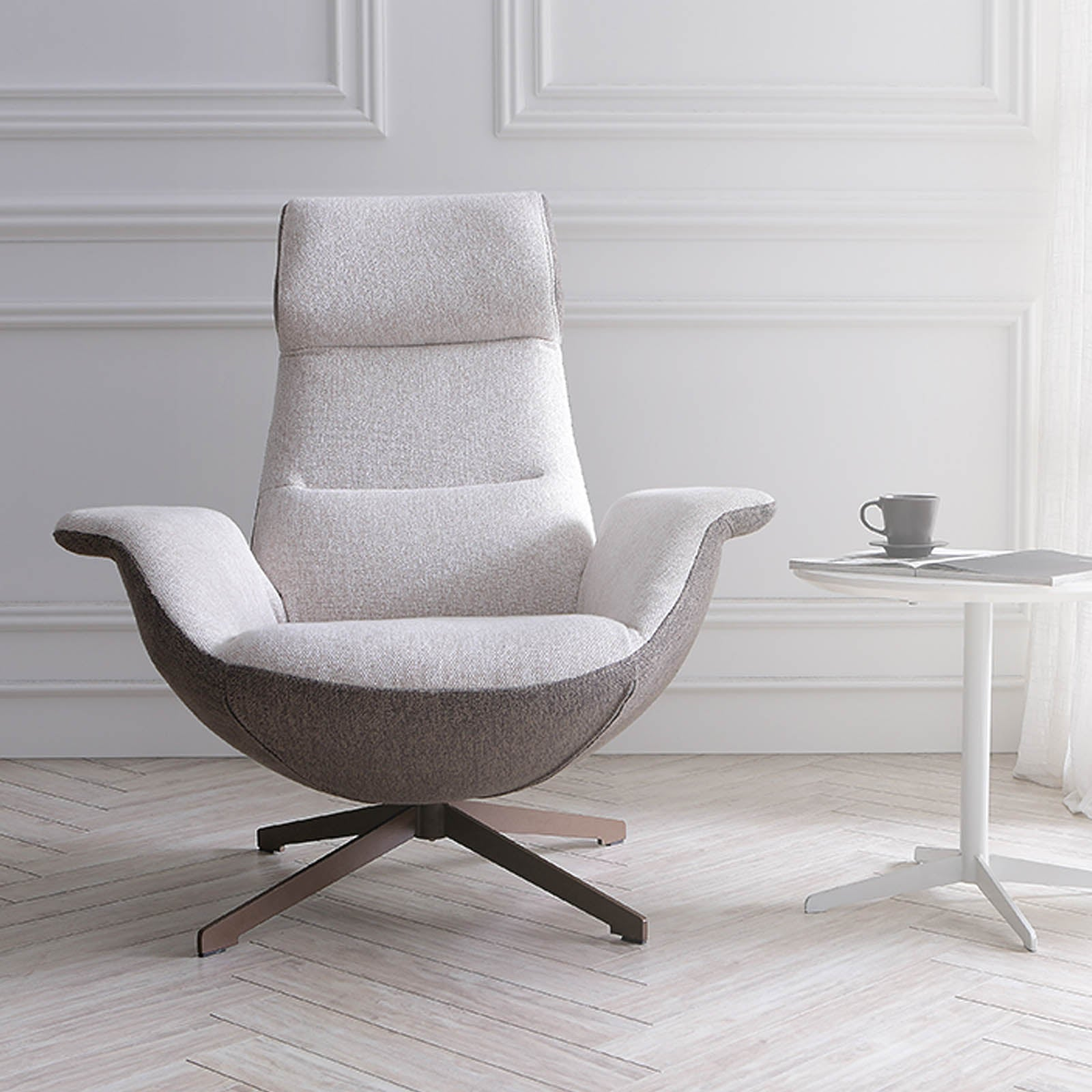 Venezia Swivel Lounge Chair  LC015 - ebarza