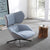 Monaco Swivel Lounge Chair  LC016 2049B -  كرسي صاله موناكو - Shop Online Furniture and Home Decor Store in Dubai, UAE at ebarza