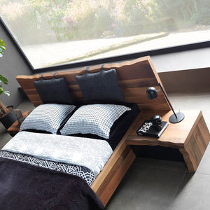 Monaco BEDSTEAD WITH STORAGE UNDER Nat001-BED