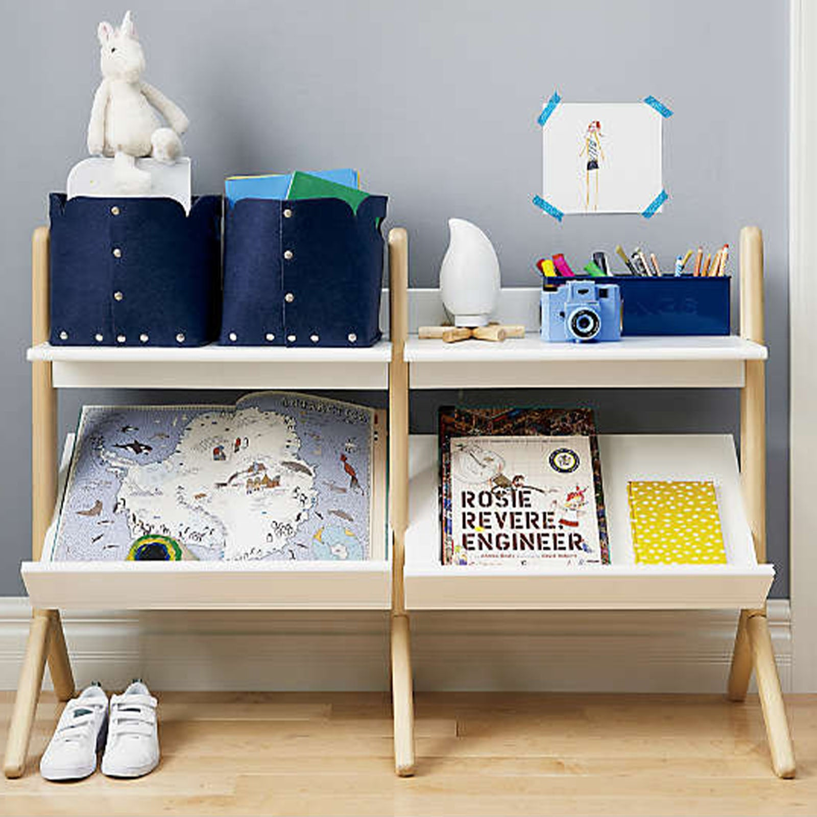 Pre-Order 30 days delivery Kids Shelf  HY-S003