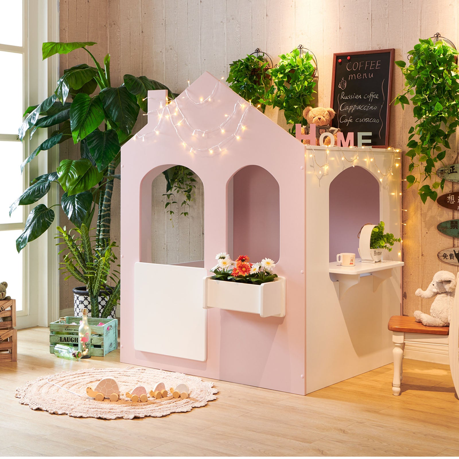 Kids Playhouse  HK-C003-P -  منزل للعب الاطفال - Shop Online Furniture and Home Decor Store in Dubai, UAE at ebarza