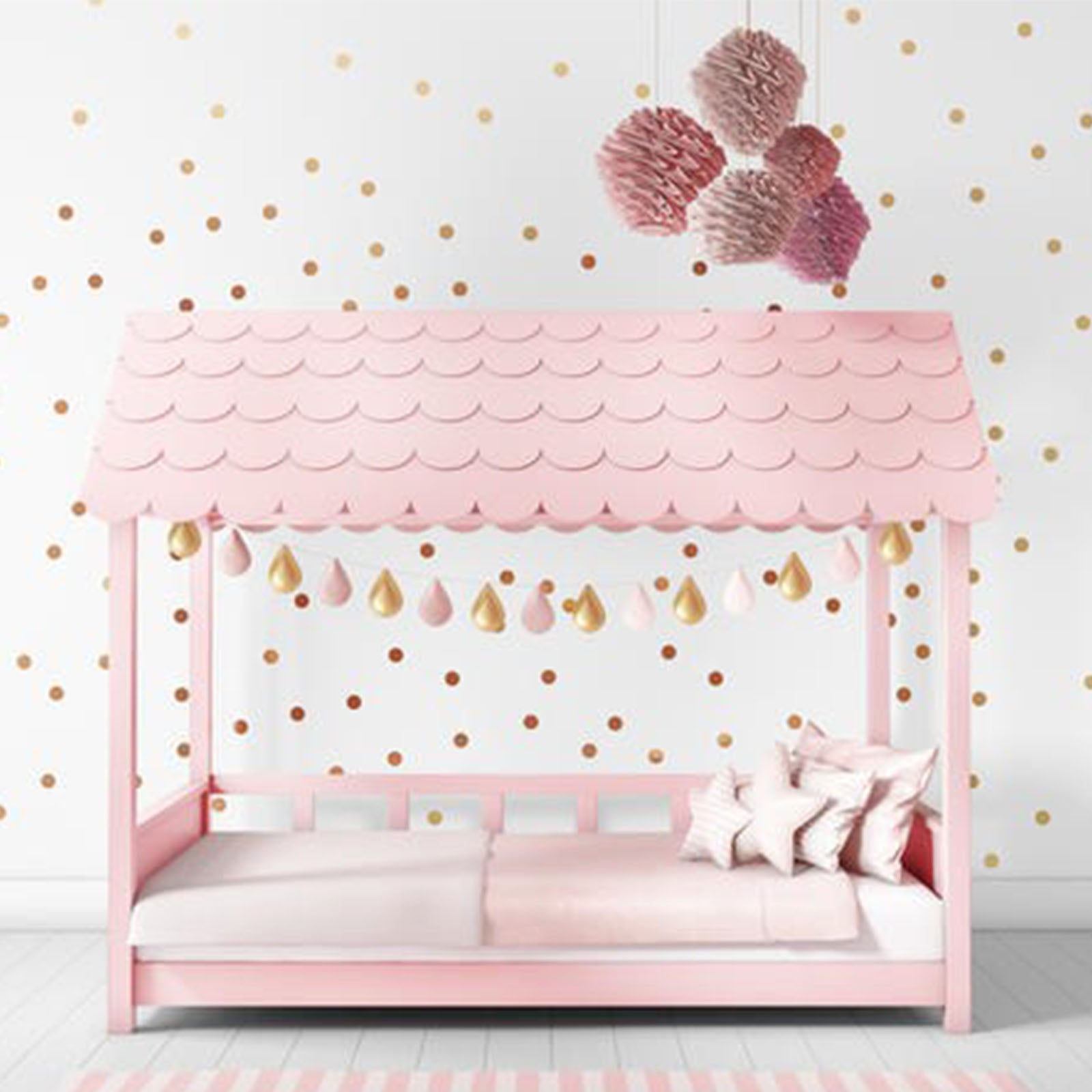 Pre-Order 30 days delivery  Hawaii Kid bed HK-C015-P