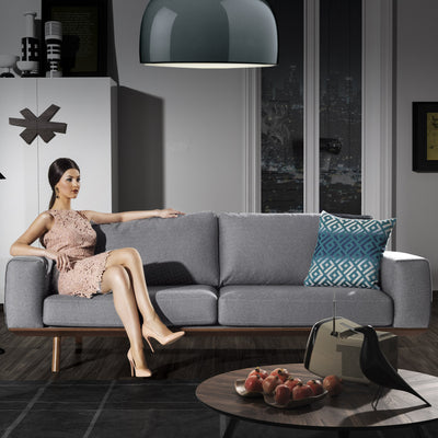 PRE-ORDER 60 DAYS DELIVERY 3+1 Turin Sofa set  ISTANB001S - ebarza
