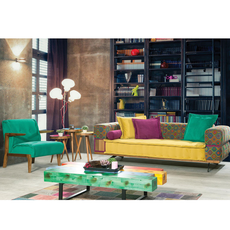 AS IS Coloruim 3 seater   Sofabed   IBIZA001S