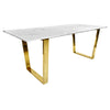 Pre-Order 60 days delivery Messina Dining table  TG-152 - ebarza