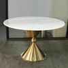 Pre-Order 60 days delivery Monaco Natural marble Dining table  TG-159X - ebarza