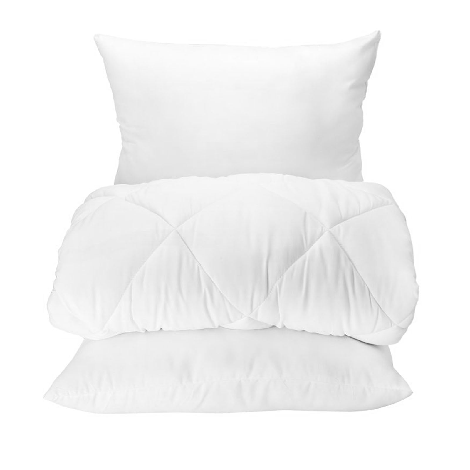 Set of Microfiber Double Comforter and 2 Pieces cotton  Pillow(MICROFIBER CIFT KS)