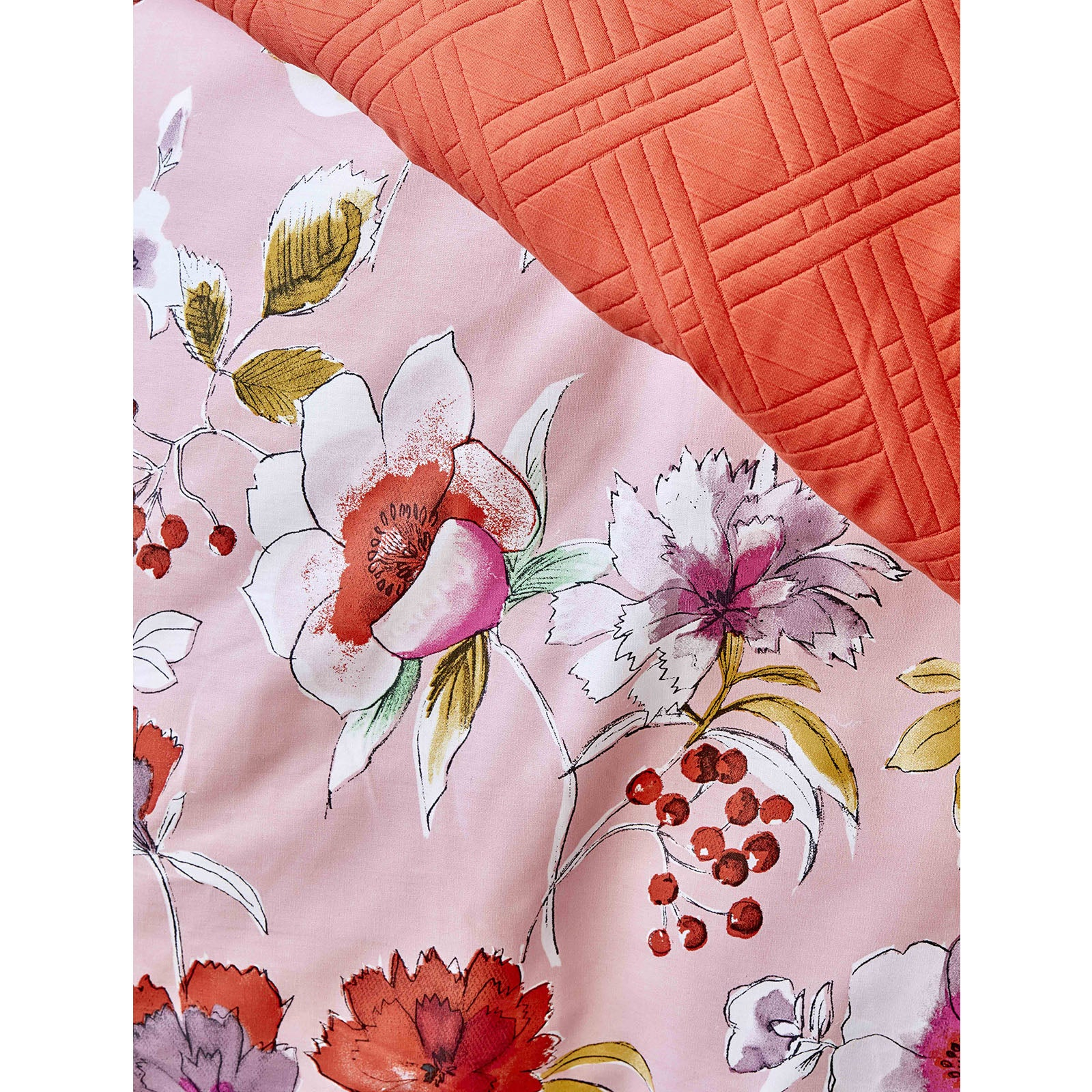 ELIA PEMBE Duvet Cover and Bed Cover Set 200.15.01.0047