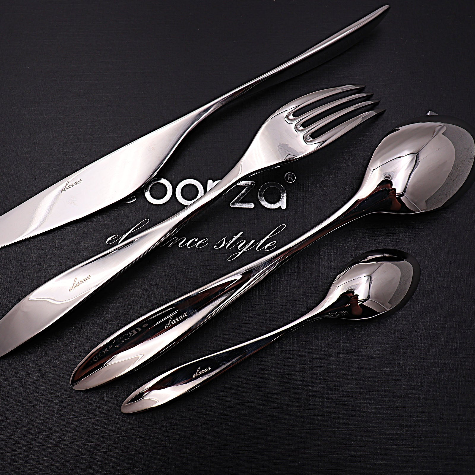Set of 24 pieces Lyon Cutlery Set 8091 - ebarza