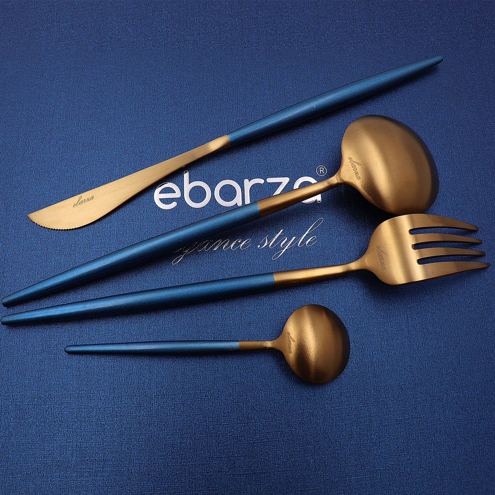 Set of 24 pieces  vienna   Cutlery Set 8048BG - ebarza