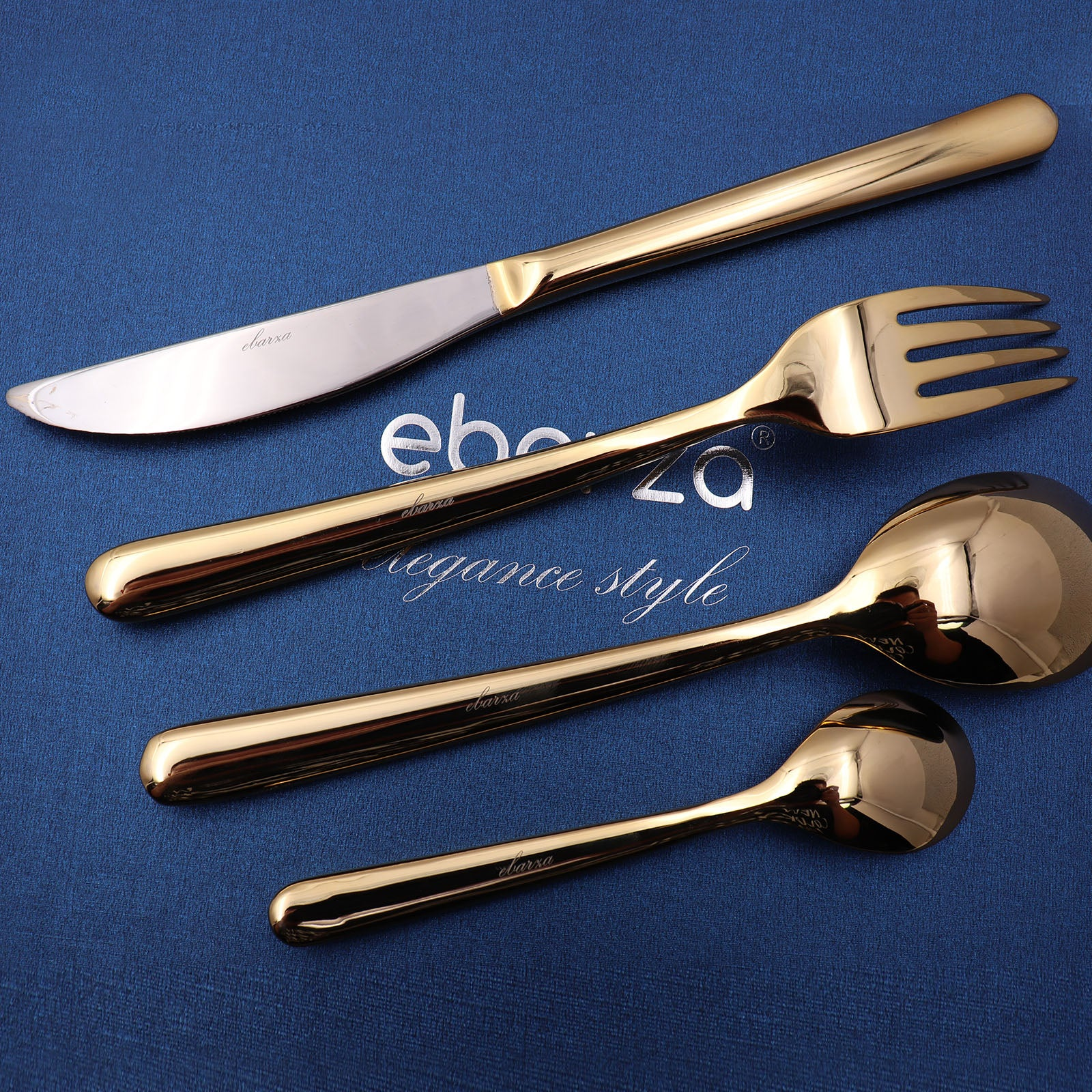 Set of 16 pieces Lyon Cutlery Set 6013G - ebarza