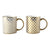 Pre-Order 50 days delivery Karaca Agote 2 Piece Porcelain Mug Set 153.03.07.7756