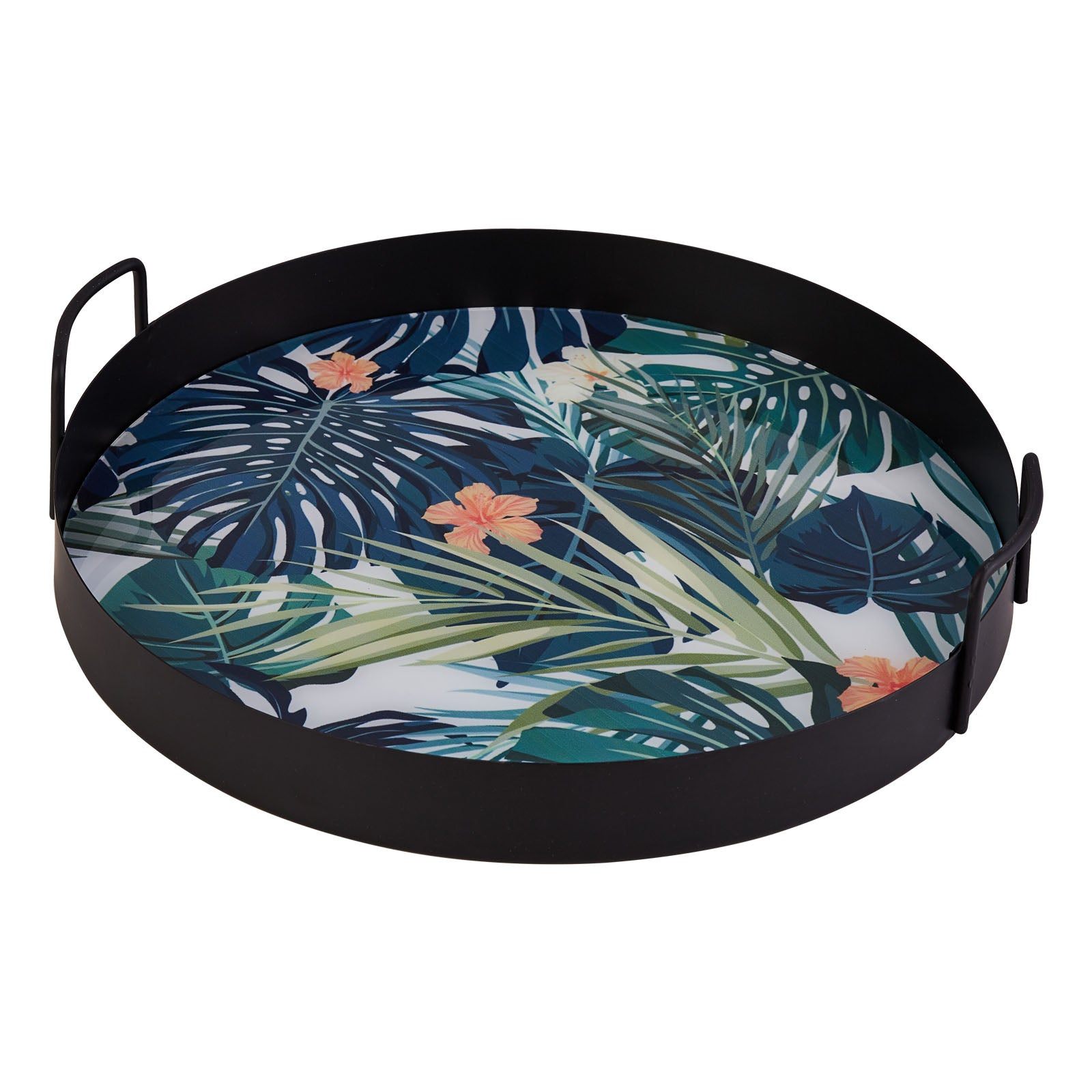 Pre-Order 30 days delivery Karaca Wild Metal Tray 153.03.07.9896