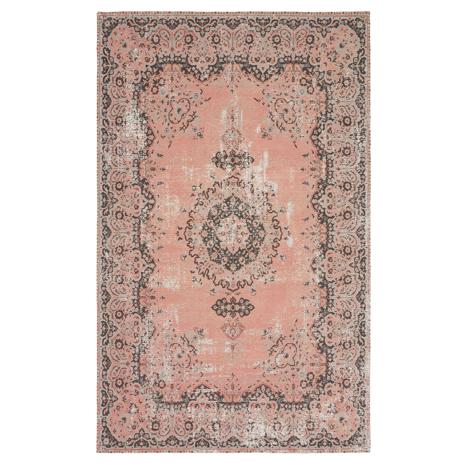 200x300  handmade Rug  Melenia-MX-54-Pink-XL -  200x300 بساط ميلينيا مصنوع يدويًا - Shop Online Furniture and Home Decor Store in Dubai, UAE at ebarza