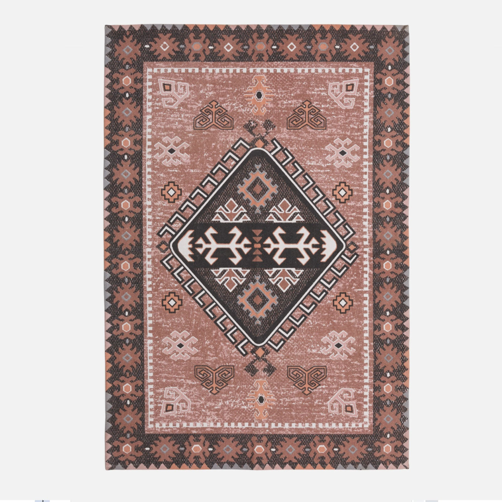 160x230 cm  handmade Wool Rug JH-20523-Pink-L -  سجادة صوف صناعة يدوية 160x230 سم - Shop Online Furniture and Home Decor Store in Dubai, UAE at ebarza