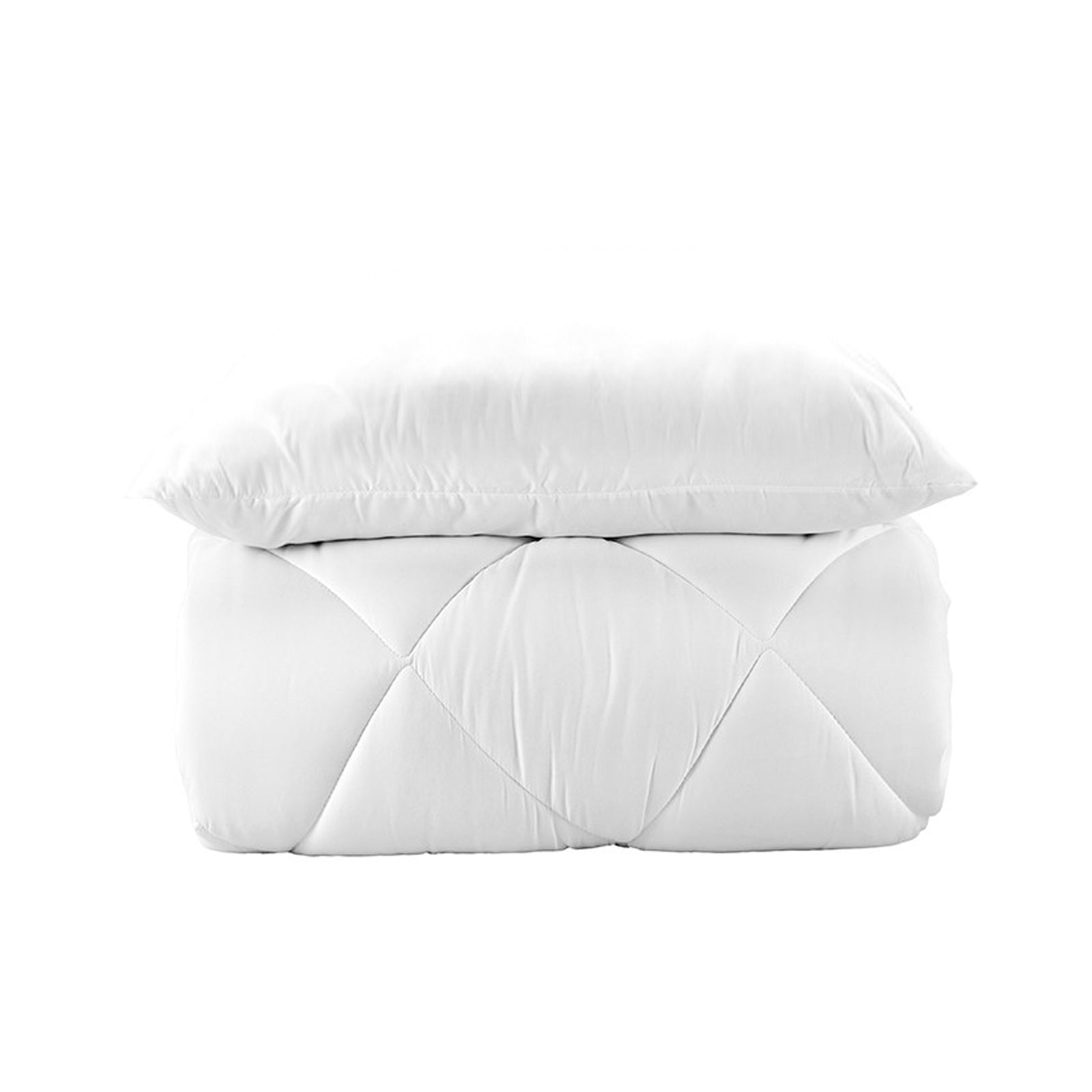 Set of Microfiber single Comforter and 1 Piece cotton  Pillow(MICROFIBER CIFT KS) 200.13.01.0188