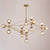 Pre-Order 50 Days Delivery Vintage 21  Heads  Bubble  Chandelier  CY-DD-309-21GD