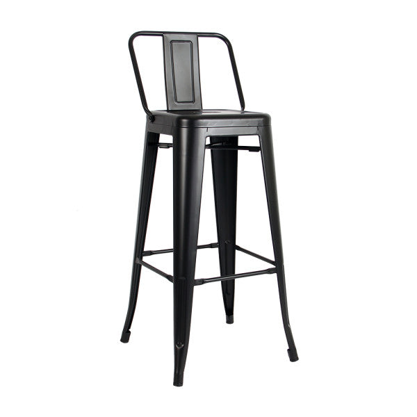 Bar Stool MC-012P-Black -  كرسي بار - Shop Online Furniture and Home Decor Store in Dubai, UAE at ebarza