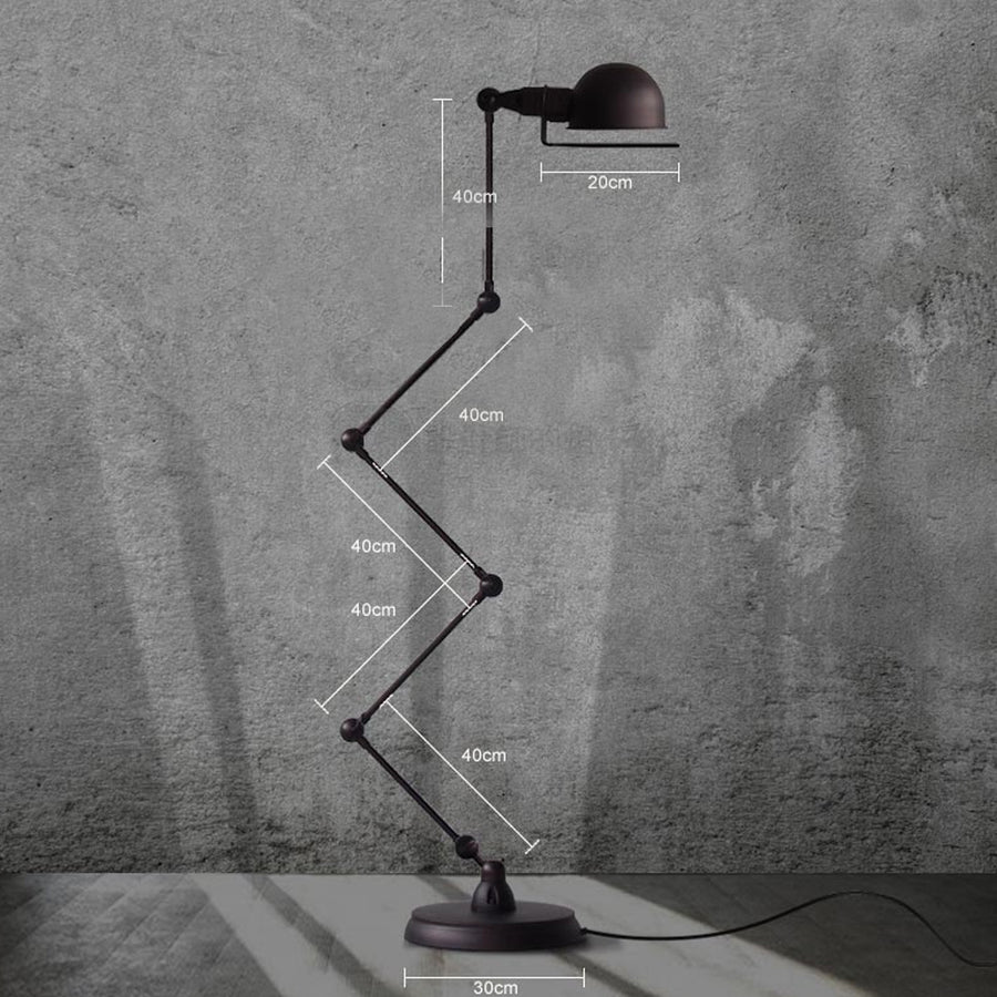 Industrial mechanism floor lamp CY-DD-562
