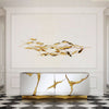 Pre-Order 70 days delivery Handcrafted Stainless steel  Artwork  Z08022-G