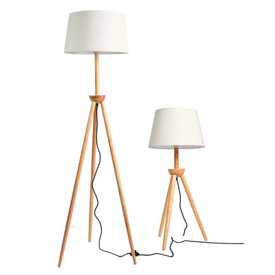 eames Solid Wood floor lamp BPLD009-N - ebarza
