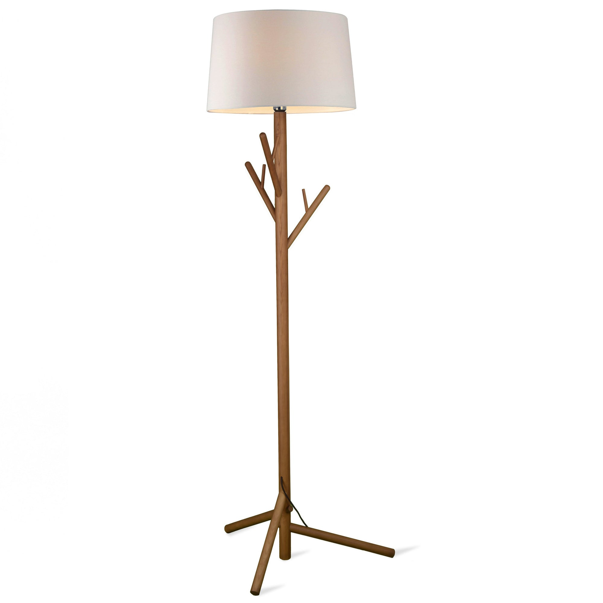 Floor Lamp - Hanger  Solid Wood Floor Lamp BPMT17-W