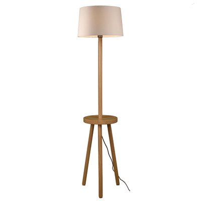 Floor Lamp - Table  Solid Wood Floor Lamp BPMT15-W