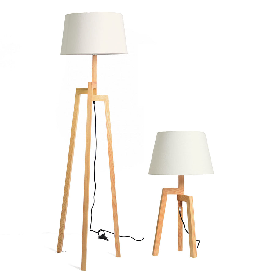 The Alien Solid Wood floor lamp LD001 - ebarza