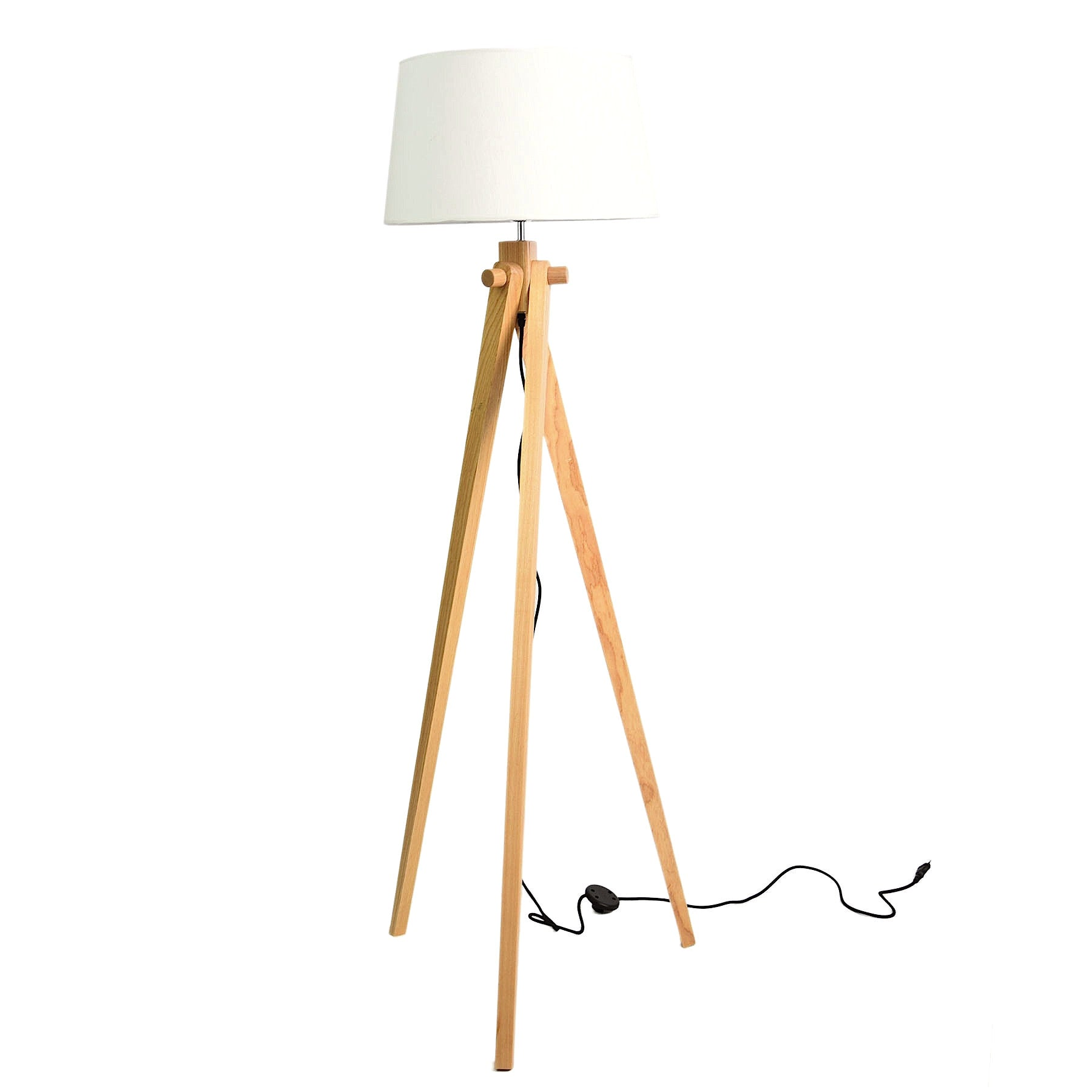 Trio Solid Wood floor lamp BPLD003-N - ebarza