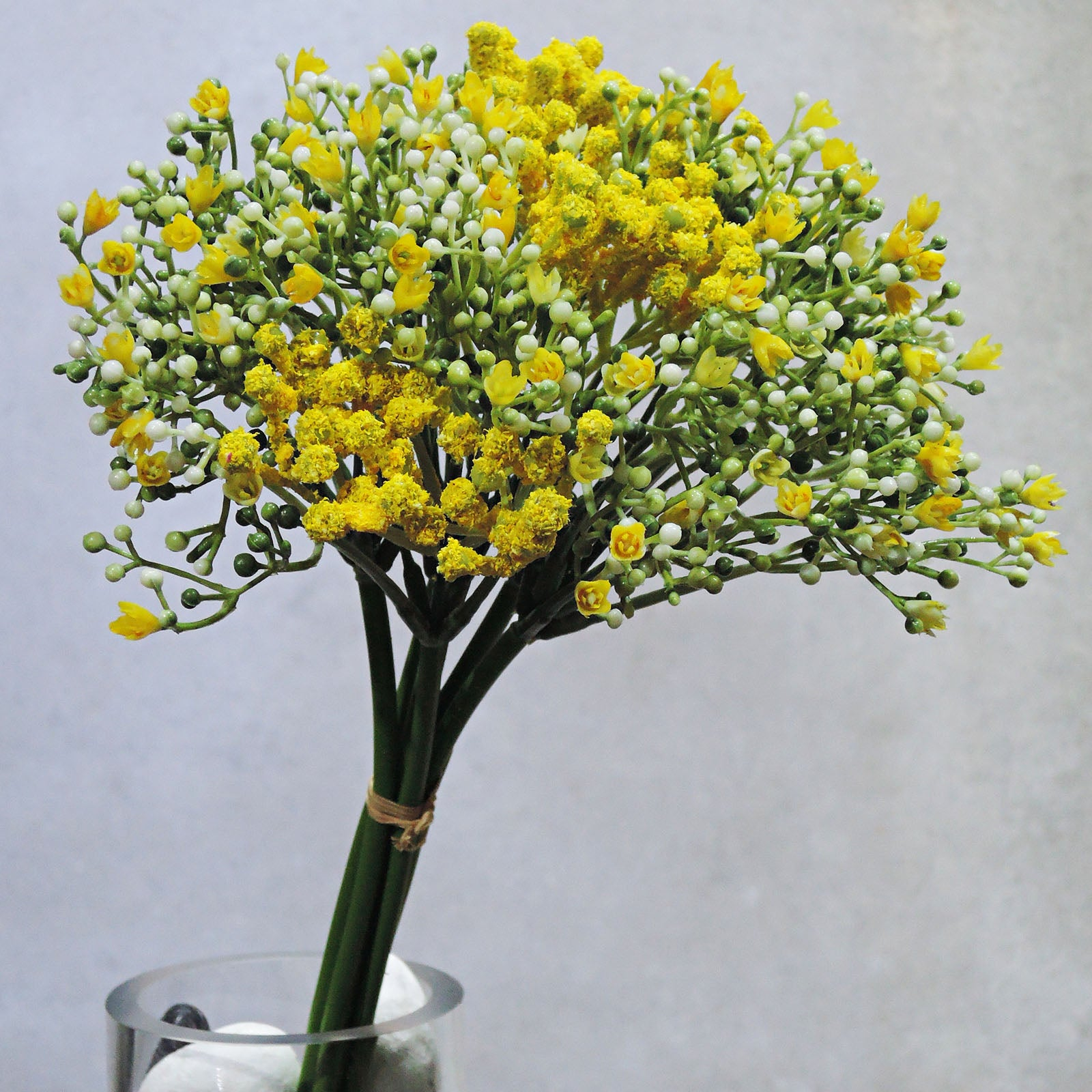 Handmade   decorative artificial plant HYP-LD3086-YE