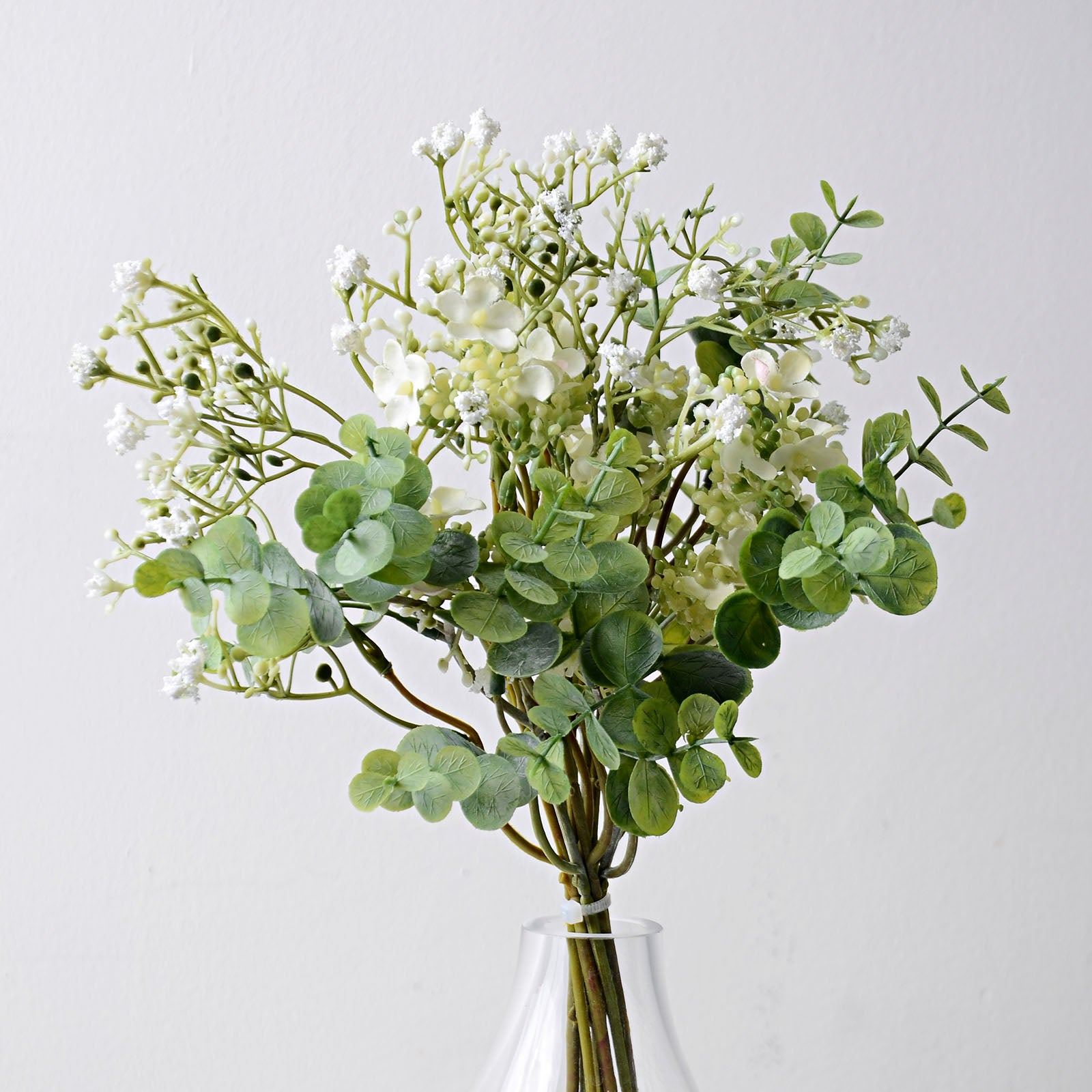Handmade   decorative artificial plant YXBYT-B3581-WH