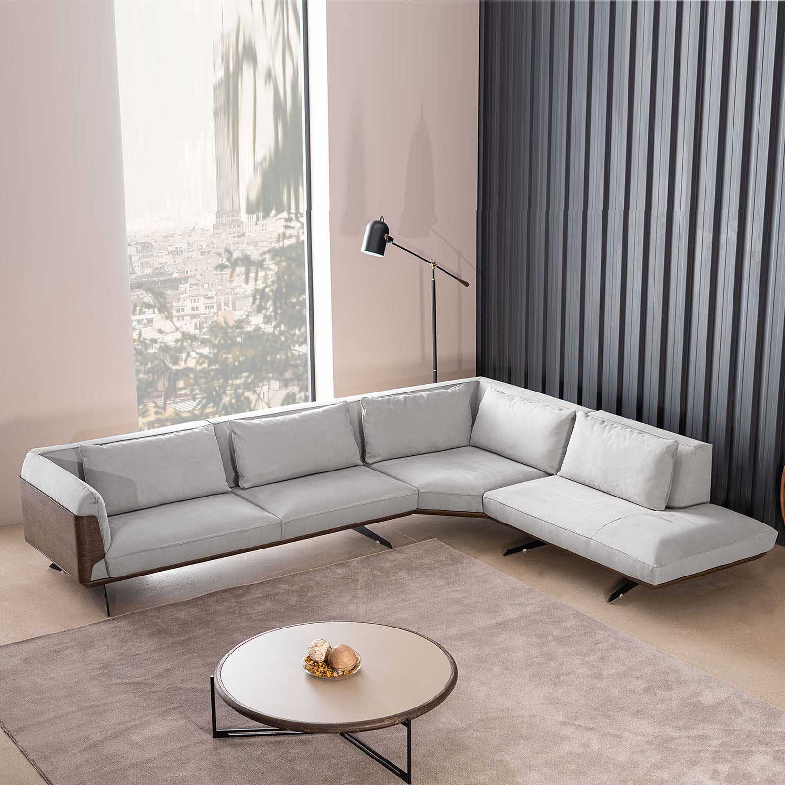 Brooklyn Corner sofa BRCORNER001